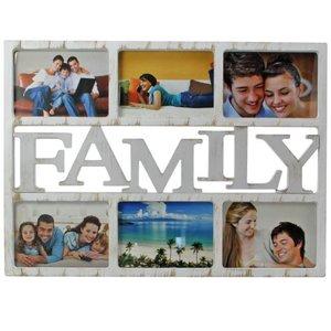 Bilderrahmen Familiy für 6 Bilder im Format 13 x18 cm