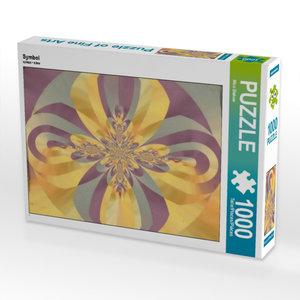 Symbol 1000 Teile Puzzle hoch