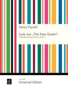 """Suite aus \""""The Fairy Queen\"""", für Blockflötenquartett und Basso"""