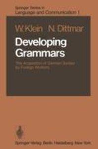 Developing Grammars