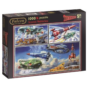 Thunderbirds (Puzzle), Iconic Vehicles
