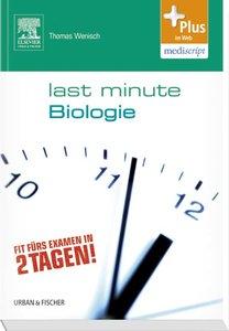 Last Minute Biologie