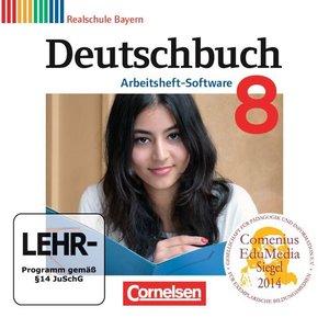 Deutschbuch 8. Jahrgangsstufe. Übungs-CD-ROM zum Arbeitsheft. Re