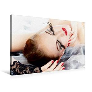 Premium Textil-Leinwand 75 cm x 50 cm quer Wings