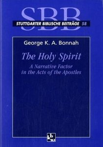 The Holy Spirit as a Narrative Factor in the Ects of the Apostel