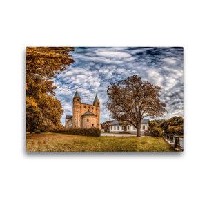 Premium Textil-Leinwand 45 cm x 30 cm quer Stiftskirche St. Cyri