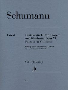 Fantasiestücke für Klavier und Klarinette (oder Violine oder Vio