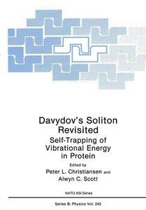 Davydov's Soliton Revisited