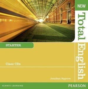 New Total English Starter Class Audio CDs