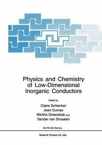 Physics and Chemistry of Low-Dimensional Inorganic Conductors