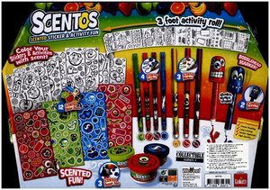 Scentos Sticker & Activity Fun Kit