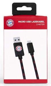 snakebyte Micro USB Ladekabel FC Bayern München, für PS4/Xbox On