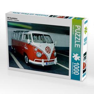 VW Sambabus 1000 Teile Puzzle quer