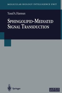 Sphingolipid-Mediated Signal Transduction