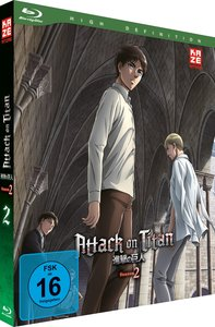 Attack on Titan. Staffel.2.2, 1 Blu-ray