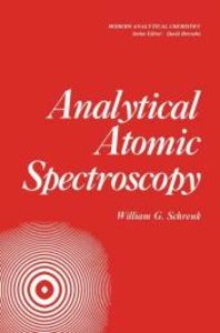 Analytical Atomic Spectroscopy