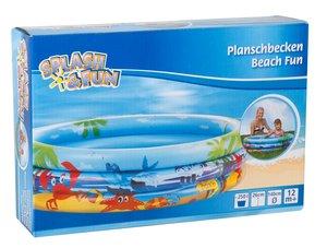 Splash & Fun Planschbecken Beach Fun 140cm