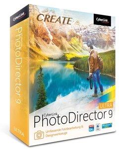 Cyberlink PhotoDirector 9 Ultra/CD-ROM