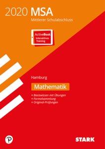 Mittlerer Schulabschluss MSA 2020 - Mathematik - Hamburg