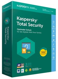Kaspersky Total Security, 1 Code in a Box