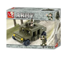 Sluban ARMY M38-B0297 - Gepanzertes Fahrzeug III, 175 Teile