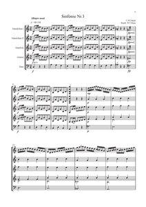 Sinfonie Nr. 3 (C.P.E. Bach)
