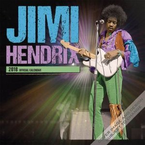 Jimi Hendrix 2018 - 18-Monatskalender