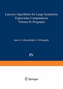 Lanczos Algorithms for Large Symmetric Eigenvalue Computations V