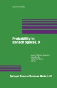 Probability in Banach Spaces, 9