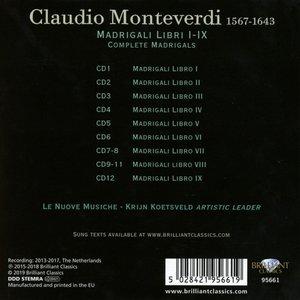 Monteverdi:Complete Madrigals