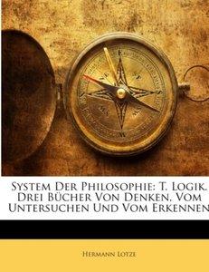 System der Philosophie. Erster Theil