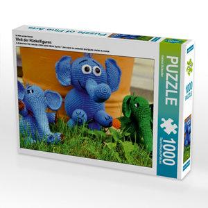 Ein Motiv aus dem Kalender Welt der Häckelfiguren 1000 Teile Puz