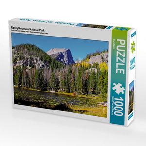 CALVENDO Puzzle Rocky Mountain National Park 1000 Teile Lege-Grö