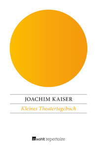 Kleines Theatertagebuch