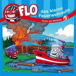 Flo - das kleine Feuerwehrauto - Feuer am Waldsee, 1 Audio-CD