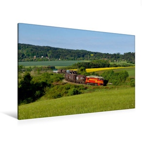 Premium Textil-Leinwand 120 cm x 80 cm quer 750 308 und 750 277
