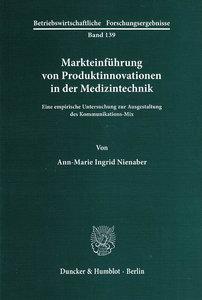 Markteinführung von Produktinnovationen in der Medizintechnik