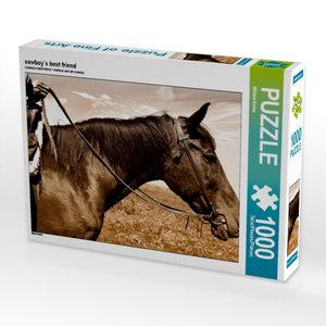 cowboy´s best friend 1000 Teile Puzzle quer