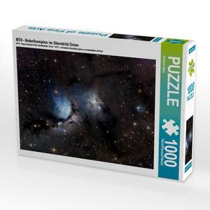 M78 - Nebelkomplex im Sternbild Orion 1000 Teile Puzzle quer
