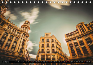 Hauptstadt Madrid (Tischkalender 2019 DIN A5 quer)