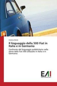 Il linguaggio della 500 Fiat in Italia e in Germania