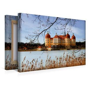Premium Textil-Leinwand 45 cm x 30 cm quer Moritzburg