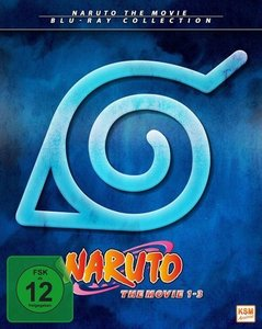 Naruto - The Movie Collection - Limited Edition Movie 1-3