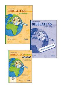 Kombi-Paket: Bibelatlas elementar, Begleitmaterialien, CD-ROM Bi