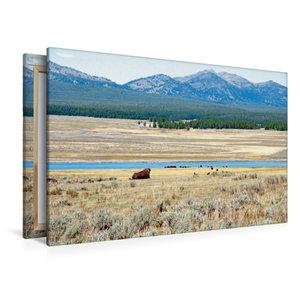 Premium Textil-Leinwand 120 cm x 80 cm quer Wandbild Hayden Vall