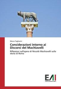 Considerazioni intorno ai Discorsi del Machiavelli