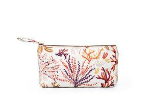 Tasche, bestickt - Design Koralle
