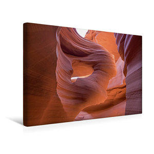 Premium Textil-Leinwand 45 cm x 30 cm quer Lower Antelope Canyon