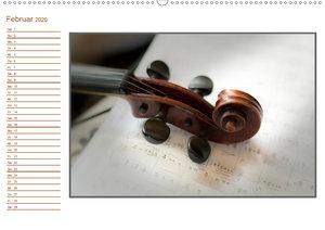 eine Violine / Geburtstagskalender