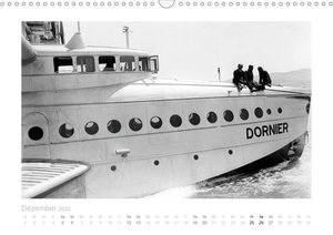 Reise mit dem Flugschiff - Dornier (Wandkalender 2020 DIN A3 que